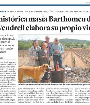 Article de journal de Tarragone